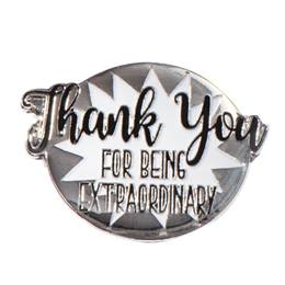 Extraordinary Thank You Pin