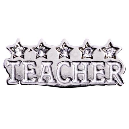 Award Pin - Five Star Teacher Bling
