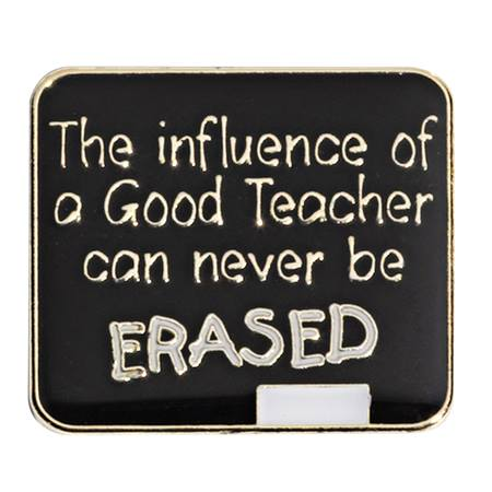 Teacher Award Pin - Chalkboard