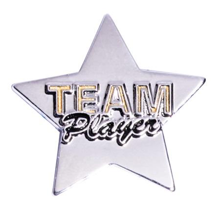 Team Award Pin Team Player Star Anderson S