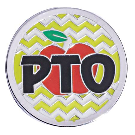 PTO Award  Pin - Chevron Apple