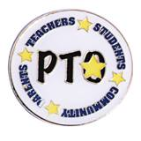 PTO Award Pin - Stars and Words