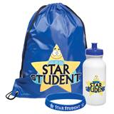 Full-color Backpack Award Set - Star Student