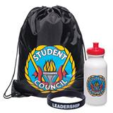 Full-color Backpack Award Set - Student Council Torch