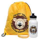 Full-color Backpack Award Set - Honor Roll Lion
