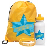 Full-color Backpack Award Set - Honor Roll Student