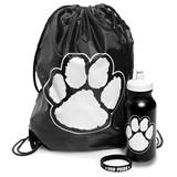 Paw Pride Backpack Set - Black