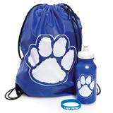 Paw Pride Backpack Set - Blue