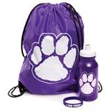 Paw Pride Backpack Set - Purple