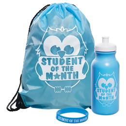 1-color Backpack Award Set - Student of the Month