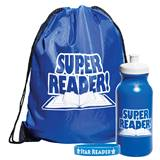 1-color Backpack Award Set - Super Reader