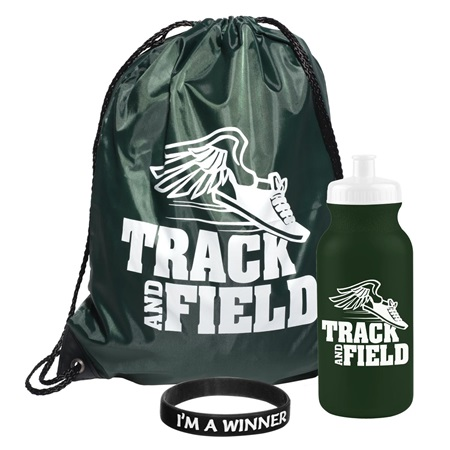1-color Backpack Award Set - Track and Field