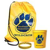 Custom Paw Backpack Award Set with Fun Cup