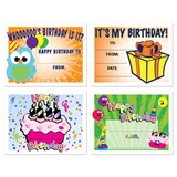 Assorted Certificate Set - Birthday