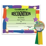 Certificate/Button Award Set- Recognition Award