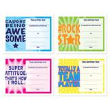 Assorted Certificate Set - Motivational