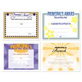Assorted Certificate Set - Principal's Award