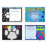 Assorted Certificate Set - Paw