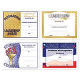 Assorted Certificate Set - Leadership