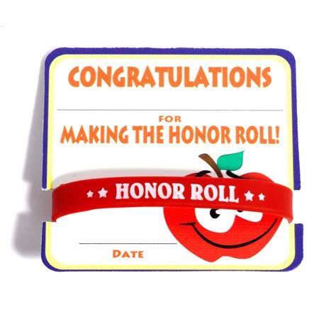 Mini Certificate/Wristband Set - Honor Roll/Apple | Anderson\'s
