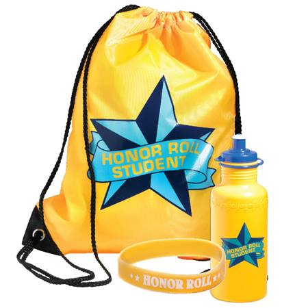 Backpack Award Set - Honor Roll Student