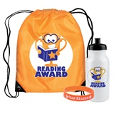 Backpack Award Set - Reading Award Trophy