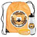 Backpack Award Set - Honor Roll Lion
