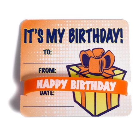 Mini Certificate/Wristband Set - It's My Birthday