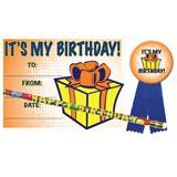 Certificate Award Set - It's My Birthday