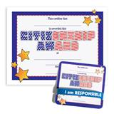 Wristband/Mini Certificate Award Set - Citizenship