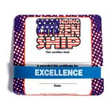 Mini Certificate/Wristband Set - Citizenship