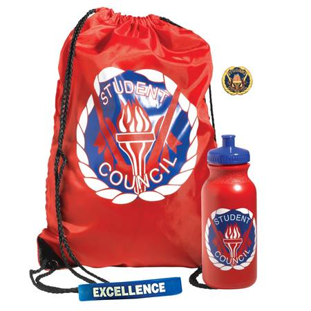 Backpack Award Set 4 pcs - Student Council