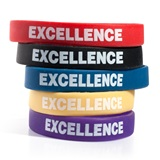 Excellence Wristband Assortment, 25/pkg