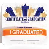Wristband/Mini Certificate Award Set - Graduation