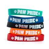 Paw Pride Wristband Assortment, 25/pkg