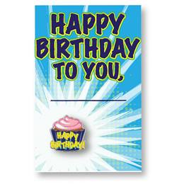 Pin Card - Happy Birthday