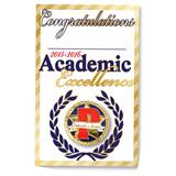 Pin Card - Academic Excellence