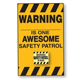 Pin Card - Safety Patrol