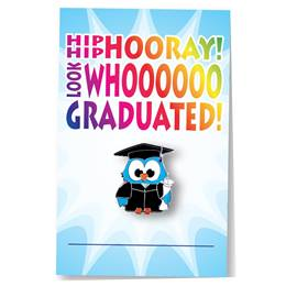 Pin Card - Graduation/Owl