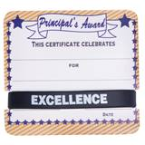 Mini Certificate/Wristband Set - Principal's Award/Regal