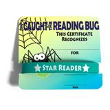 Mini Certificate/Wristband Set - Reading Bug