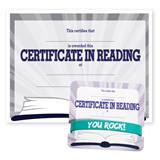 Wristband/Mini Certificate Award Set - Reading