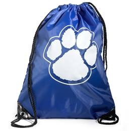 Paw Backpack - Blue/White