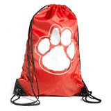 Paw Backpack - Red/White