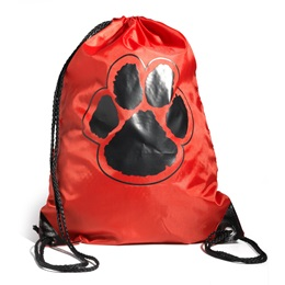 Paw Backpack - Red/Black