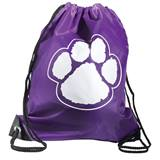 Paw Backpack - Purple/White