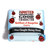 Mini Certificate/Wristband Set - Good Character