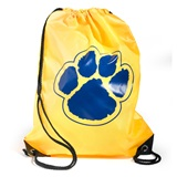 Paw Backpack - Gold/Blue
