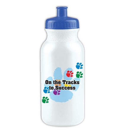 On the Tracks to Success Water Bottle