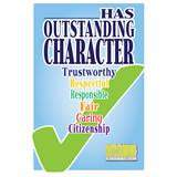 Pin Card with Pin Set - Outstanding Character